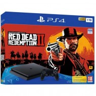 CON PS4 1TB SLIM + RED DEAD...