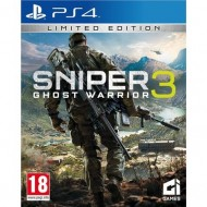 PS4 SNIPER GHOST WARRIOR 3...