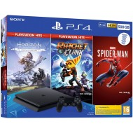 CONSOLA PS4 500GB + HZD...