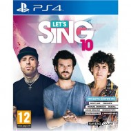 PS4 LET'S SING 10