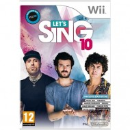 WII LET'S SING 10