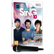 WII LET'S SING 10 + MICROS