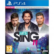 PS4 LET'S SING 11 VERSION...