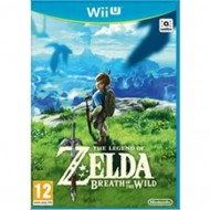 WIIU LEGEND OF ZELDA BREATH...